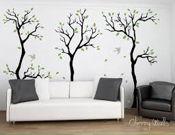 Cool Wall Decals by Cool Small Bedroom Decor With Wall Stickers Howiezine With Regard