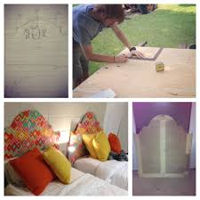 Diy Twin Headboard Ideas by Diy Dorm Room Headboard For Twin Size Bed Traced U0026 Cut Out From A