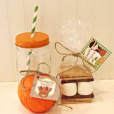 thanksgiving table favors thanksgiving s u0027mores kit holiday party favors u2013 polly and ester