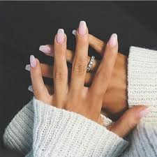 White Pink Nail Powder Gel Nails Beautiful Pink And White Solar Gel Nails 3 Seeds