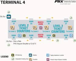 Map Of Phoenix Area by Phoenix Sky Harbor International Airport Maplets