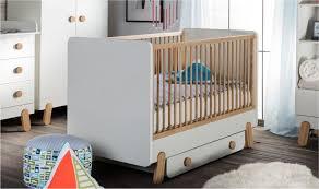 chambre bebe cosy lit bébé 60x120 design blanc cosy mobilier chambre bébés