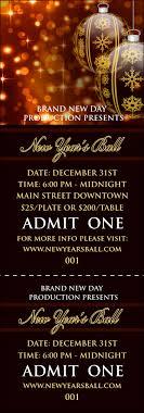ornament event ticket