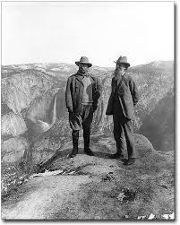 amazon com teddy roosevelt and john muir yosemite 1906 8x10