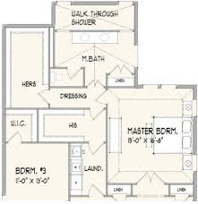 His And Her Bathroom Floor Plans House Review Master Baths Professional Builder