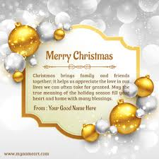 make personal merry christmas wishes cards online free