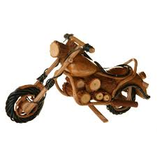 trade wooden motorbike model 1 14 99 fair trade product