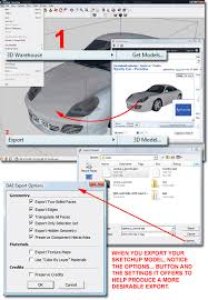 how to convert sketchup sku files to autocad dwg files
