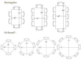 average round table size 8 seater round table size cad75 com