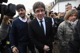 Cabinet Officers Spanish Judge Withdraws Arrest Warrants For Ousted Catalan Leader