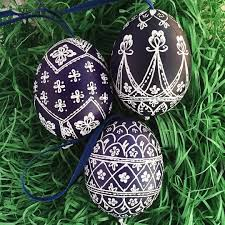 egg ornaments eastern european easter eggs