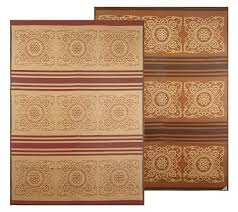 reverse to colo two in one 9 u0027 x 12 u0027 outdoor mat by patio mats