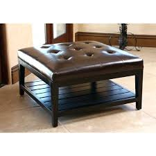 Large Leather Ottoman Leather Square Ottoman Ottoman Large Square Leather Ottoman Coffee