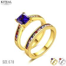 marriage rings sets aliexpress buy kiteal beautiful wedding rings sets