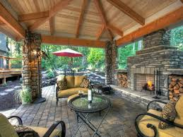 Cozy Living Rooms by Beauteous Natural Pergola For Setting Cozy Living Room Part Of