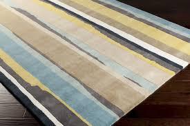 Outdoor Blue Rug Blue Yellow Rug Modern Surya Sanderson Snd 4502 Feather Grey