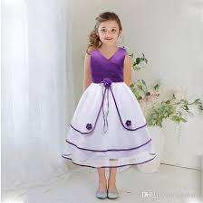 wedding dresses with purple detail 2018 flower dress tulle wedding dresses for