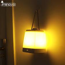 amber led book light iminovo portable lantern hanging night lights usb hand l