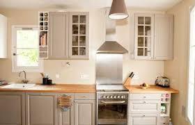 repeindre cuisine en chene best top agrable peindre armoire de