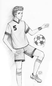 soccer player by sajophoe on deviantart