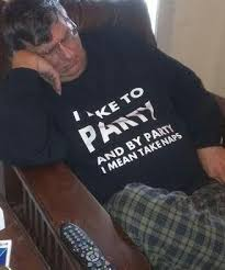 Meme Party Hard - seems like this guy really likes to party hard meme guy