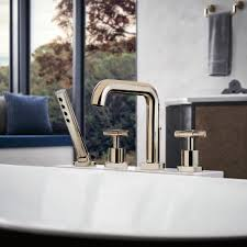 Brizo Bathroom Faucet by Brizo T67435 Litze Trim For Roman Tub Filler With Handshower