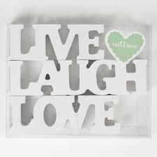 love live laugh small love live laugh letters cream