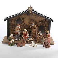 home interior nativity set amazon com 10 classical porcelain nativity manger