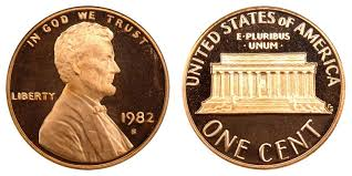 penny s 1982 s lincoln memorial cent copper copper alloy penny value and