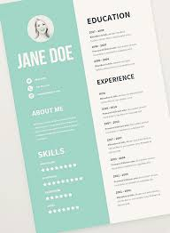 resume template free free cv resume psd templates freebies graphic design junction