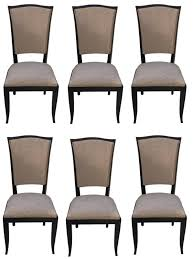black lacquer dining room furniture french art deco black lacquer dining chairs set of six modernism