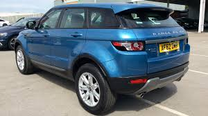 range rover blue land rover range rover evoque 2 2 sd4 pure tech pack