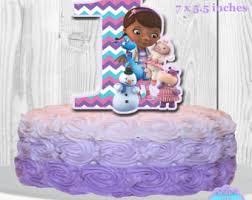 doc mcstuffin cake toppers doc mcstuffins cake topper number 3 doc mcstuffins