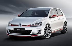 golf volkswagen gti new volkswagen golf gti tuned by abt sportsline automotorblog