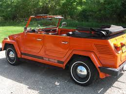 volkswagen orange affordable volkswagen thing has cimg on cars design ideas with hd