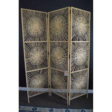 Wicker Room Divider Vintage Sunburst Wicker Room Divider Chairish