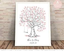 tree signing for wedding tree guest book etsy