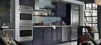 Black Kitchen Cabinets With Stainless Steel Appliances Kitchen Island Fabulous One Wall Single Wall Kitchen Design Brown