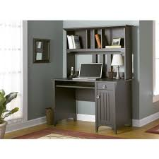 Small Computer Armoire by Bush Furniture Salinas Mission Desk U0026 Hutch Walmart Com