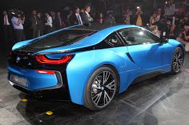 Bmw I8 Green - watch and hear the 2014 bmw i8 accelerate w video motor trend wot