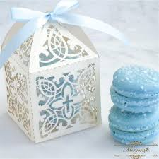 baptism favor boxes personalized cross laser cut baptism communion decoration