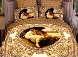 royal home decor golden europe royal home decor luxury bedding set full queen size