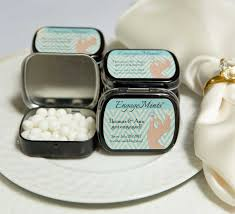 engagement party favors engagement mint tins sweetly wrapped occasions