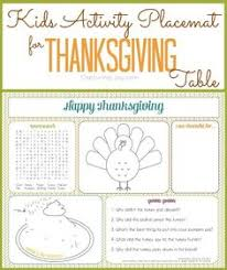 thanksgiving activities for birthday