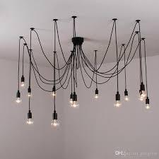 Spider Chandelier Edison Spider Chandelier Morden Creative Light Bulbs Pendant Light