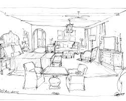 Bedroom Design Drawings My Design Process Part One Velvet U0026 Linen