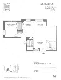 north park residences floor plan hudson square north downtown hoboken apartments applied