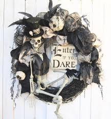 28 halloween wreath steampunk skeleton halloween