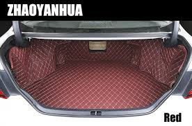 toyota camry trunk custom fit car trunk mats for toyota camry prado luggage mats 5