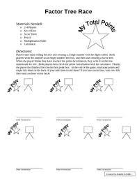all worksheets factor tree worksheets free printable